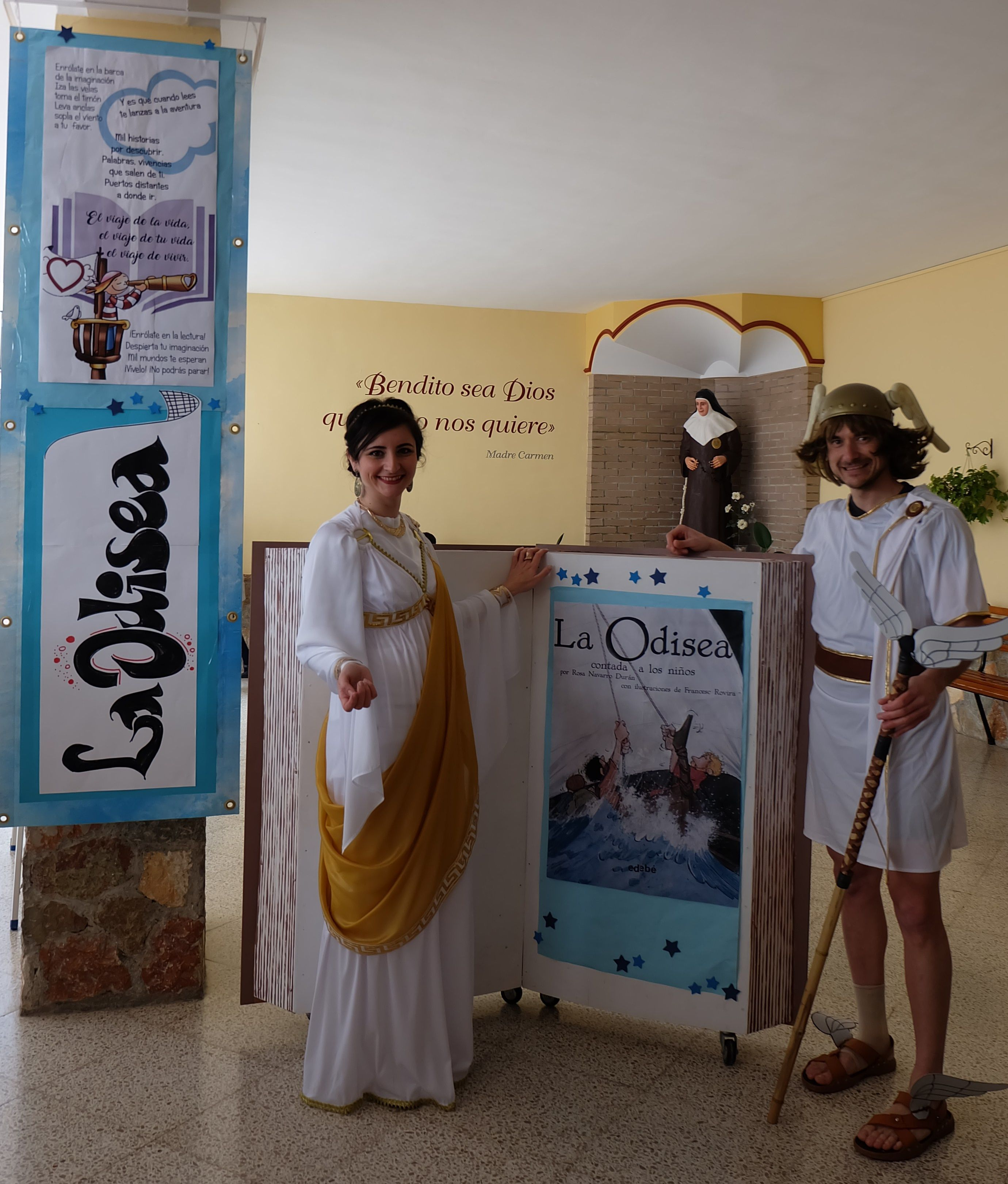 Anuncio de la fiesta de la Odisea