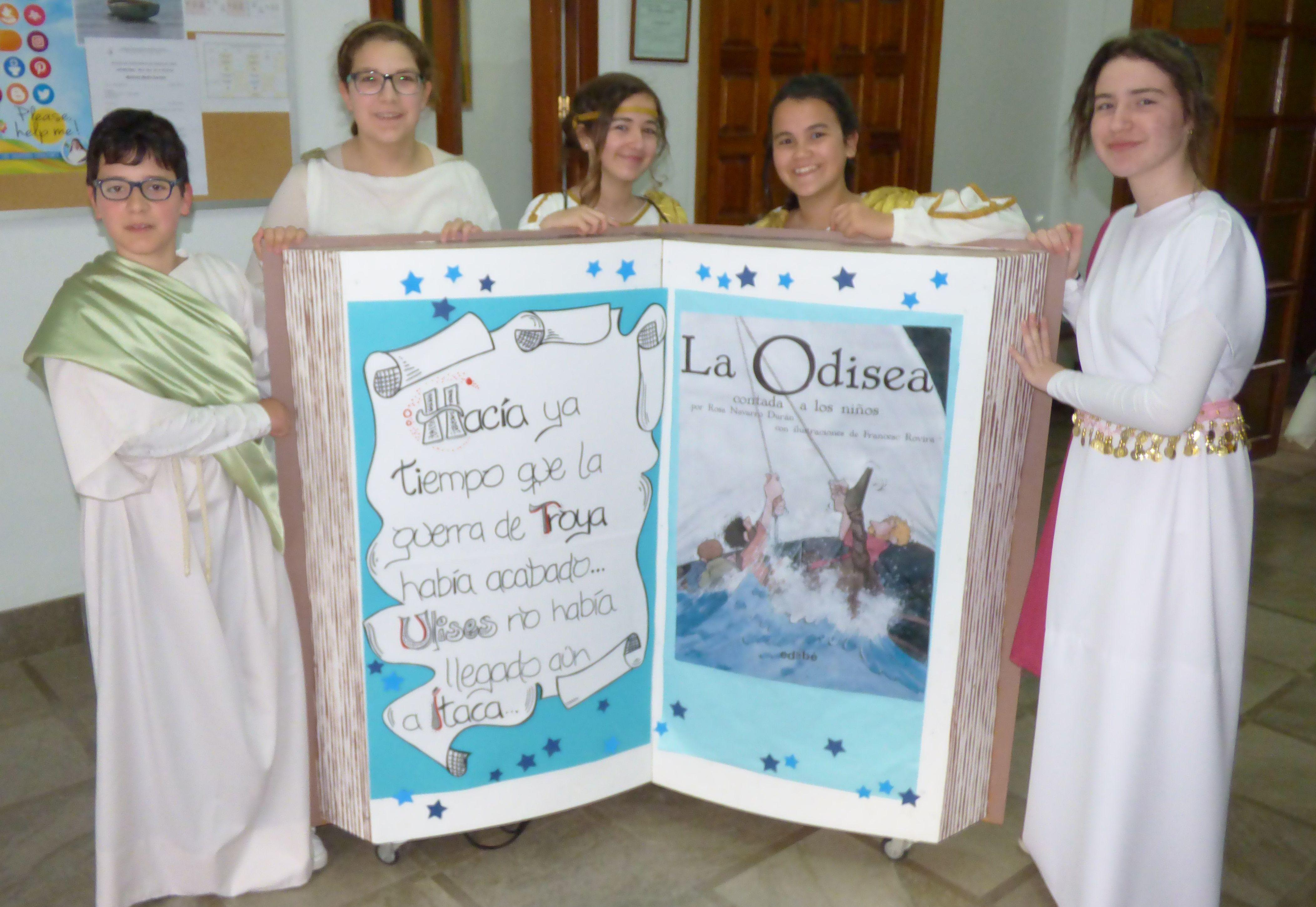 La fiesta de la Odisea, fotomontaje