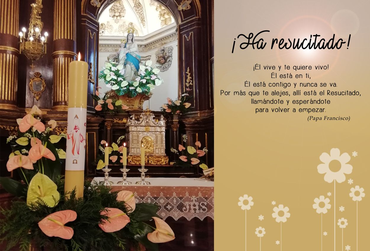 ¡FELIZ PASCUA DE RESURRECCIÓN!