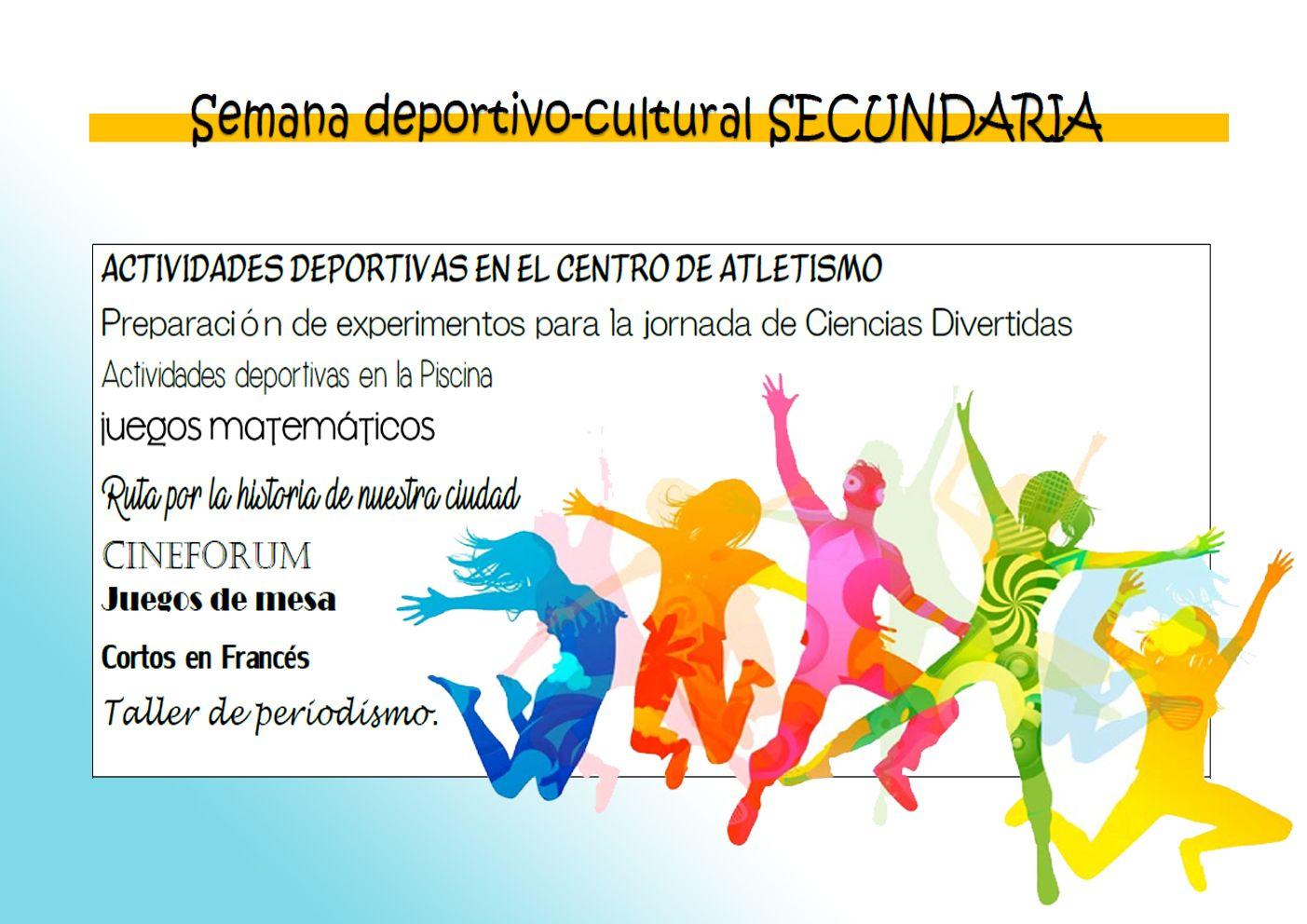 SEMANA DEPORTIVO-CULTURAL SECUNDARIA