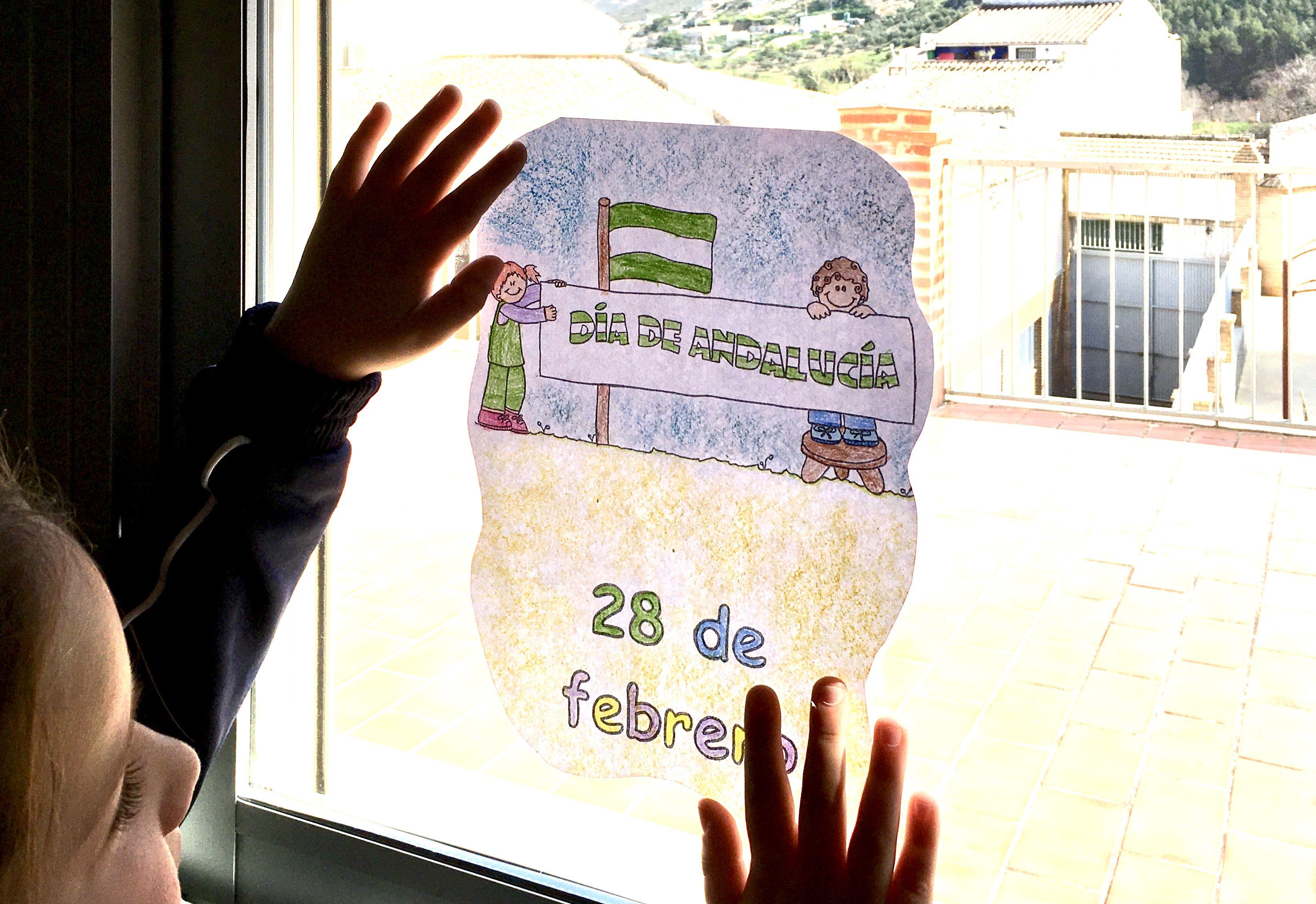 1ºEP PREPARA LA FESTIVIDAD DEL DÍA DE ANDALUCÍA